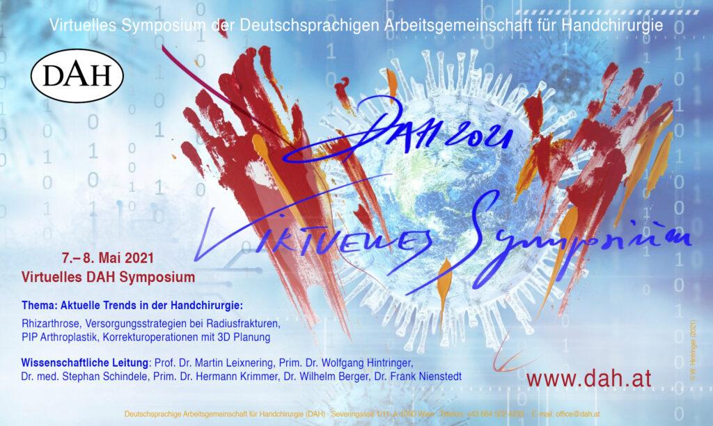 Virtuelles DAH Symposium Poster